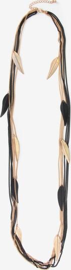 J. Jayz Kette in gold / schwarz, Produktansicht