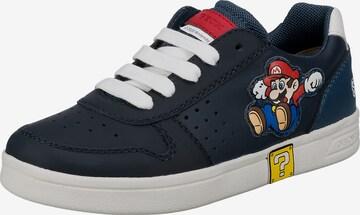 GEOX Sneaker 'Djrock' in Blau