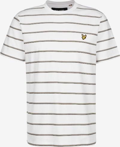 Lyle & Scott Shirt in de kleur Zwart / Wit, Productweergave