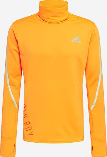 ADIDAS PERFORMANCE Functioneel shirt in de kleur Grijs / Neonoranje / Rood, Productweergave