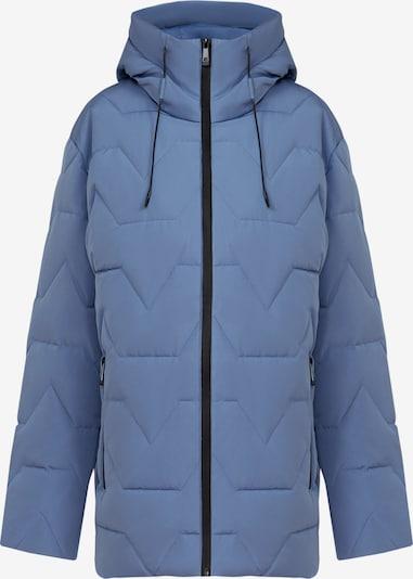 Finn Flare Winterjas in de kleur Lichtblauw, Productweergave