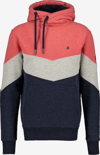 Alife and Kickin Sweatshirt 'Jasper' in blau / grau / pink, Produktansicht