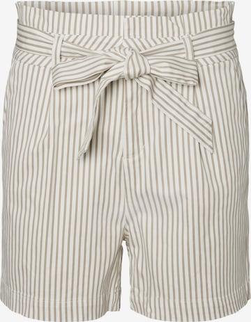 Vero Moda Petite Pleat-Front Pants 'Eva' in White