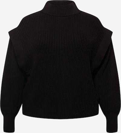 Selected Femme Curve Pullover in schwarz, Produktansicht