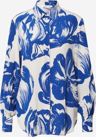 WOOD WOOD Bluse 'Magda' in Blau