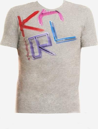 Karl Lagerfeld Shirt in de kleur Blauw / Grijs gemêleerd / Lila / Pink, Productweergave