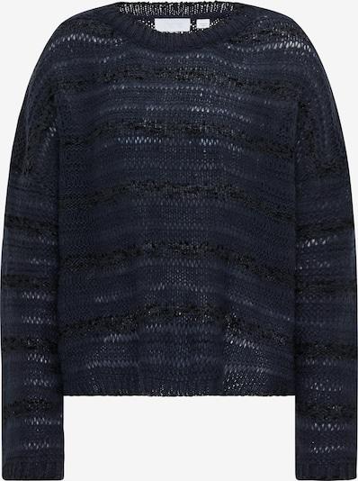 usha WHITE LABEL Pullover in nachtblau / schwarz, Produktansicht
