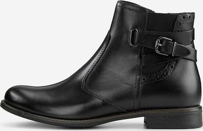 COX Klassische Stiefeletten Chelsea-Boots in schwarz, Produktansicht