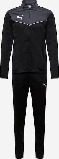 PUMA Traininganzug 'RISE' in grau / schwarz / weiß, Produktansicht