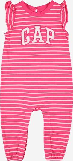 GAP Overall in de kleur Pink / Wit, Productweergave