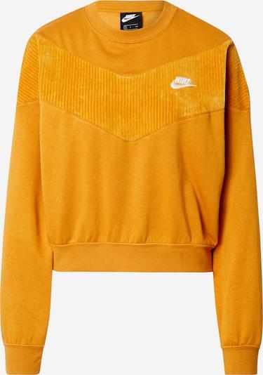 Nike Sportswear Sweat-shirt en orange, Vue avec produit