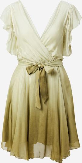 Kokteilinė suknelė iš GUESS, spalva – žalia / šviesiai žalia, Prekių apžvalga