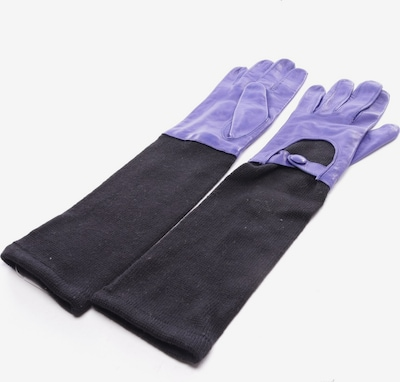 Marc Cain Handschuhe in S in lila / schwarz, Produktansicht