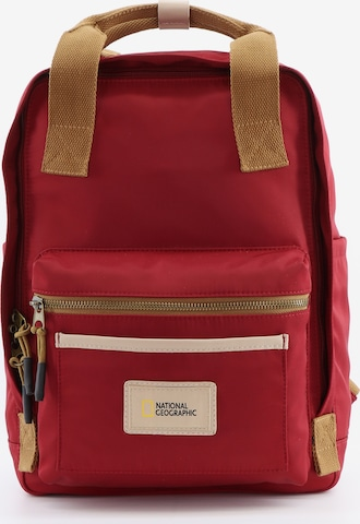 National Geographic Rucksack 'Legend' in Rot