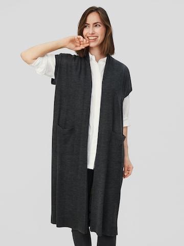 Masai Knit Cardigan 'Lee' in Grey
