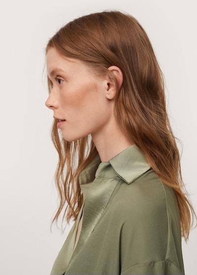 MANGO Блуза 'Daniela' в зелено, Преглед на продукта