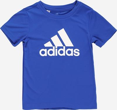 """Sportiniai marškinėliai iš ADIDAS PERFORMANCE, spalva – sodri mėlyna (""""karališka"""") / balta, Prekių apžvalga"""