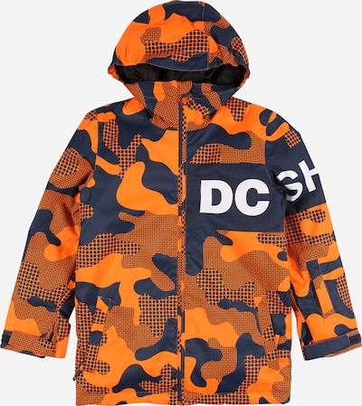 DC Shoes Sport-Jacke in navy / orange / weiß, Produktansicht