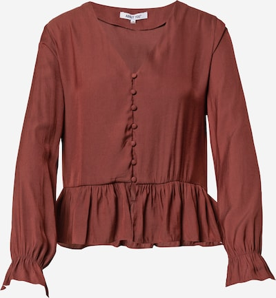 ABOUT YOU Blouse 'Mandy' in Rusty red, Item view