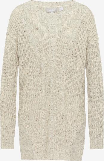 Usha Pullover in beige / naturweiß, Produktansicht