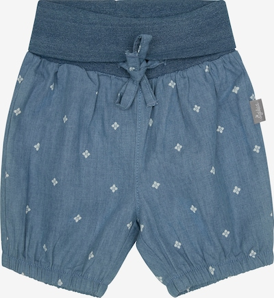 SIGIKID Pants 'Summer Day' in Dusty blue / White, Item view