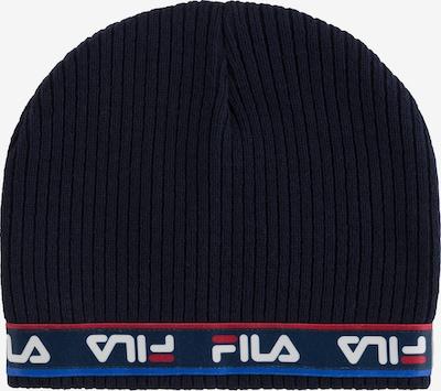 FILA Mütze in blau / rot / schwarz / weiß, Produktansicht