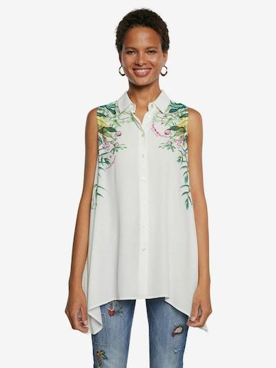 Desigual Blusa 'FILADELFIA' en mezcla de colores / blanco, Vista del modelo