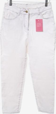 Madeleine Straight-Leg Jeans in 29 in Weiß