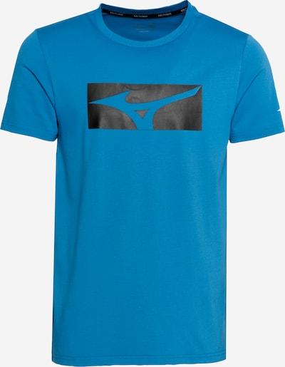 MIZUNO Camiseta funcional en azul cielo / negro / blanco, Vista del producto
