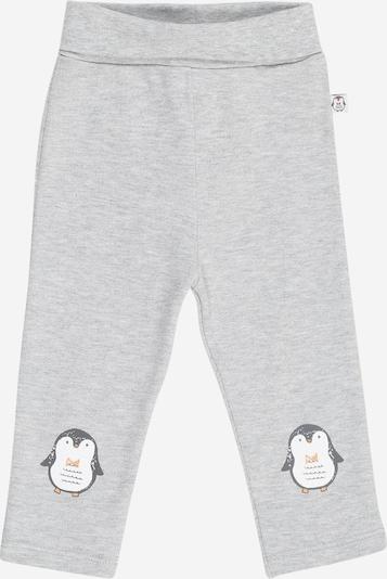 BLUE SEVEN Hose in graumeliert / schwarz / weiß, Produktansicht