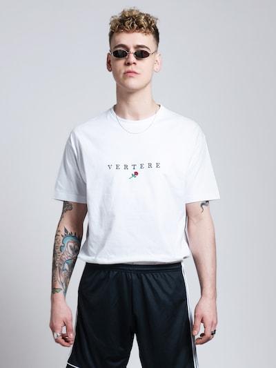 Vertere Berlin T-Shirt in grün / rot / schwarz / weiß: Frontalansicht
