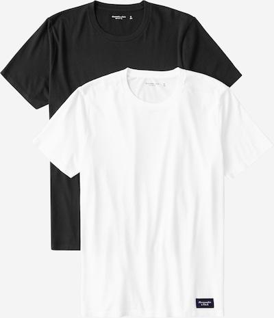 Abercrombie & Fitch Majica u crna / bijela, Pregled proizvoda