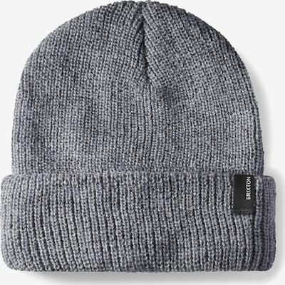 Brixton Mütze 'HEIST' in grau, Produktansicht
