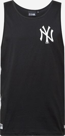 NEW ERA T-Shirt en noir / blanc, Vue avec produit
