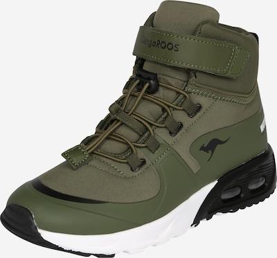 KangaROOS Lage schoen 'Hydro' in de kleur Olijfgroen / Zwart, Productweergave