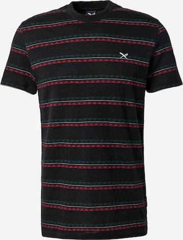 Iriedaily T-Shirt 'Monte Noe Jaque' in Schwarz