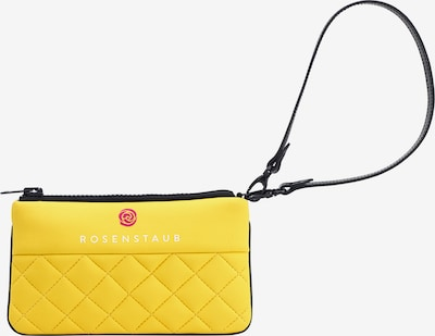 Rosenstaub Clutch Neoprene Clutch 'ZOE' Yellow in gelb, Produktansicht