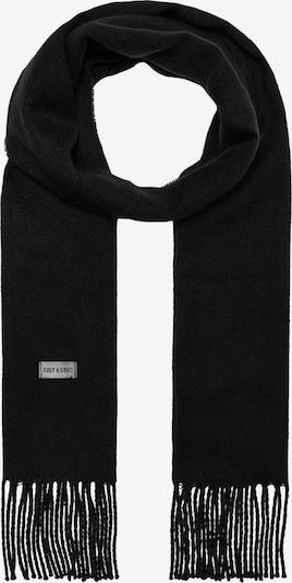Only & Sons Sjaal 'Carlo' in de kleur Zwart, Productweergave