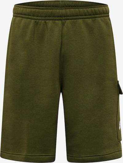 Nike Sportswear Pantalon en vert, Vue avec produit
