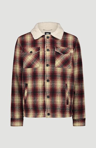 O'NEILL Winterjas in de kleur Beige / Grijs / Rood, Productweergave