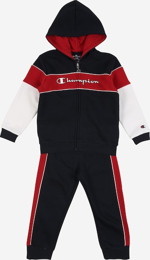 Champion Authentic Athletic Apparel Jogginganzug in nachtblau / rot / weiß, Produktansicht