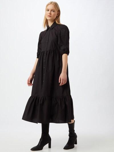 Rochie tip bluză PATRIZIA PEPE pe negru, Vizualizare model