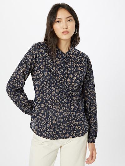 Bluză GAP pe bej închis / bleumarin, Vizualizare model