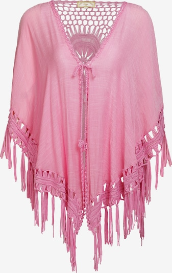 MYMO Poncho in pink: Frontalansicht