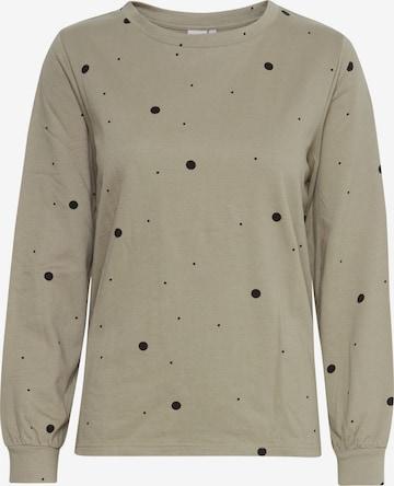 ICHI Sweatshirt in Beige