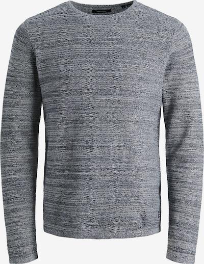 JACK & JONES Pullover 'THEO' in graumeliert, Produktansicht
