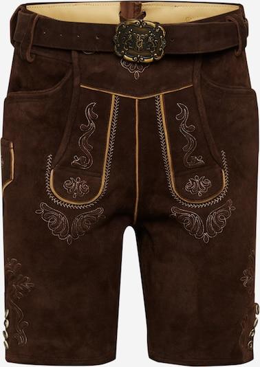 ALMSACH Dirndl hlače u tamno smeđa, Pregled proizvoda