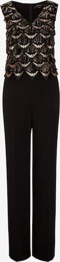 COMMA Jumpsuit in de kleur Goud / Zwart, Productweergave