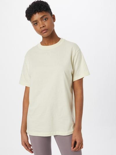 Nike Sportswear Тениска в бежово / сиво: Изглед отпред
