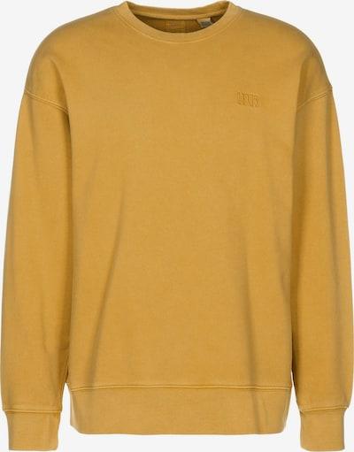 LEVI'S Sweater ' Authentic Logo Crewneck ' in gelb, Produktansicht